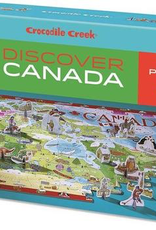 Crocodile Creek Puzzle Discover Canada 100 pcs