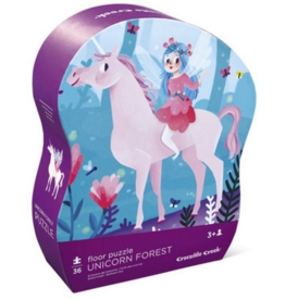 Crocodile Creek Puzzle licorne