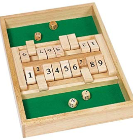 Goki Jeu de bois Shut the Box