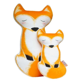 Petit Loulou Big fox pillow  «Amis de la forêt» Petit Loulou