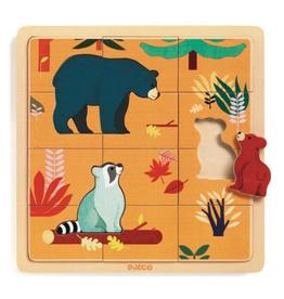 Djeco Puzzle de bois Canada