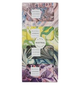 Produits de soin Ensemble de 4 savons (biologique)<br /> Mistral