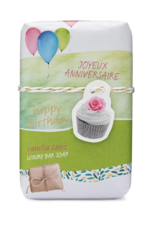 Produits de soin Savon Joyeux anniversaire<br /> Mistral