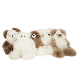 Peluche Peluche petit ours en laine d'alpagas<br /> Shupaca