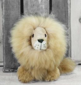 Peluche Peluche lion en laine d'alpagas<br /> Shupaca