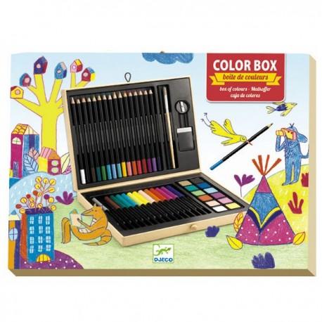 Djeco Boîte de couleurs  <br />Djeco