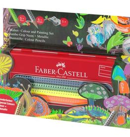 Faber-Castell Boîte de crayons de couleurs
