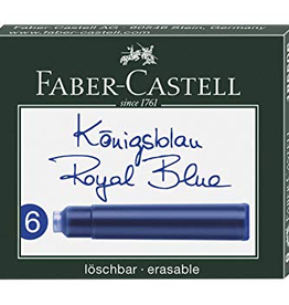 Faber-Castell Recharge d'encre bleu