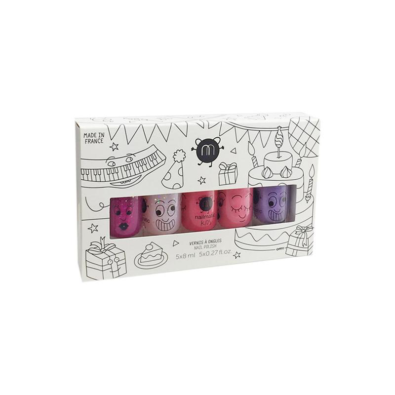 Nailmatic Coffret de 5 vernis à ongles nailmatic