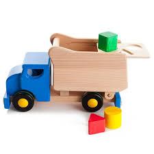 Bajo Camion avec formes bleu ou rouge