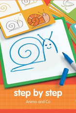 Djeco Dessin Step by Step  - Animaux