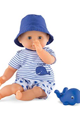Corolle Mon premier bébé bain Bleu Corolle