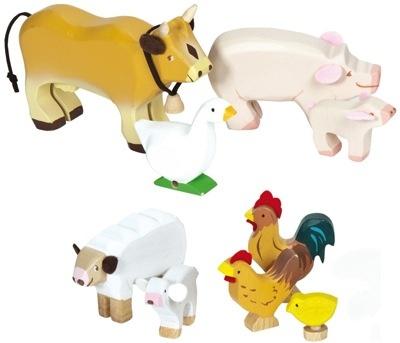 Le Toy Van Animaux de la ferme