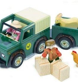 Le Toy Van Le camion tout-terrain de la ferme