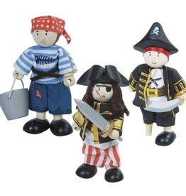 Le Toy Van The pirates (trio)
