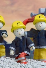 Le Toy Van Trio de pompiers Budkins