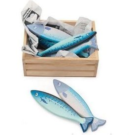 Le Toy Van Market fish crate