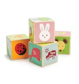 Le Toy Van Forest cubes (4) (Solid Wood) Le Toy Van