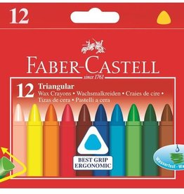 Faber-Castell Crayons de cire formes triangulaires