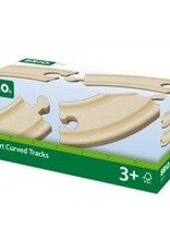 Brio Curved Rails (small) BRIO