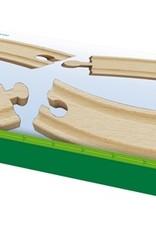 Brio Curved Rails (large) BRIO