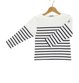 Armor Lux Long-sleeve T-shirt white and navy blue Size 4 years
