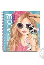 Créatif Style Model Doggy Coloring Book