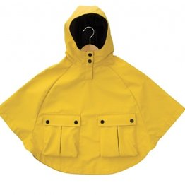 Armor Lux Yellow Rain Cape Size 4 years