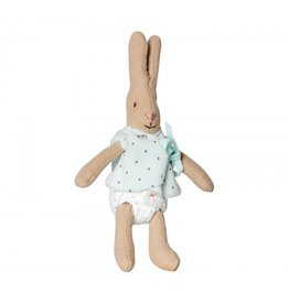 Maileg Micro Rabbit with Blue Cardigan