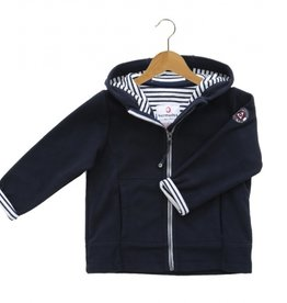 Armor Lux Fleece Jacket Size 4 years