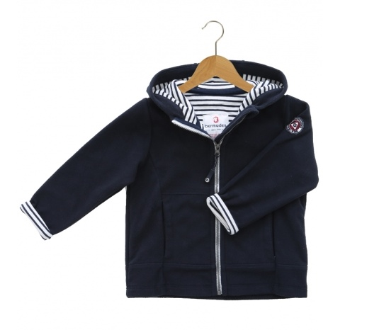 Armor Lux Fleece Jacket Size 4 years