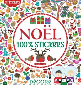 Livre Noël 100% Stickers (800 stickers) Larousse