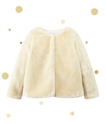 Vêtements Doux manteau doré taille 6 ans
