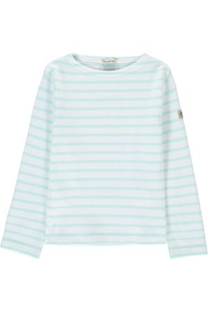 Armor Lux Marinière Loctudy Kid - Taille 6 ans- Blanc / rivage