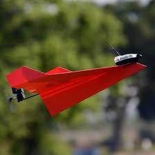 Power Up Dart Power Up Dart - Système pour avion de papier (rouge)