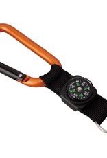 Gadgets Mousqueton avec boussole