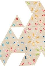 Goki Tri-domino de bois