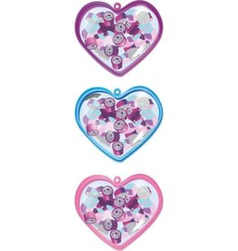 Accessoires Caja en forma de corazón con borradores
