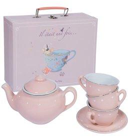 Moulin Roty Ensemble de thé en porceleine