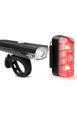 Blackburn Dayblazer 400 Front, 65 Rear USB Rechargeable Light Set