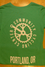 Community Cycling Center Logo T-Shirt Green