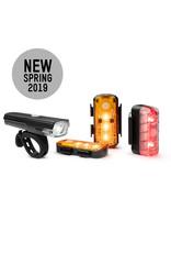 Blackburn Luminate 360 Front, Rear, and 2 Amber Lightset
