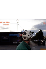 Light & Motion Vis Pro Helmet Mount  600 Lumens  Front and Rear USB Rechargeable LIghts