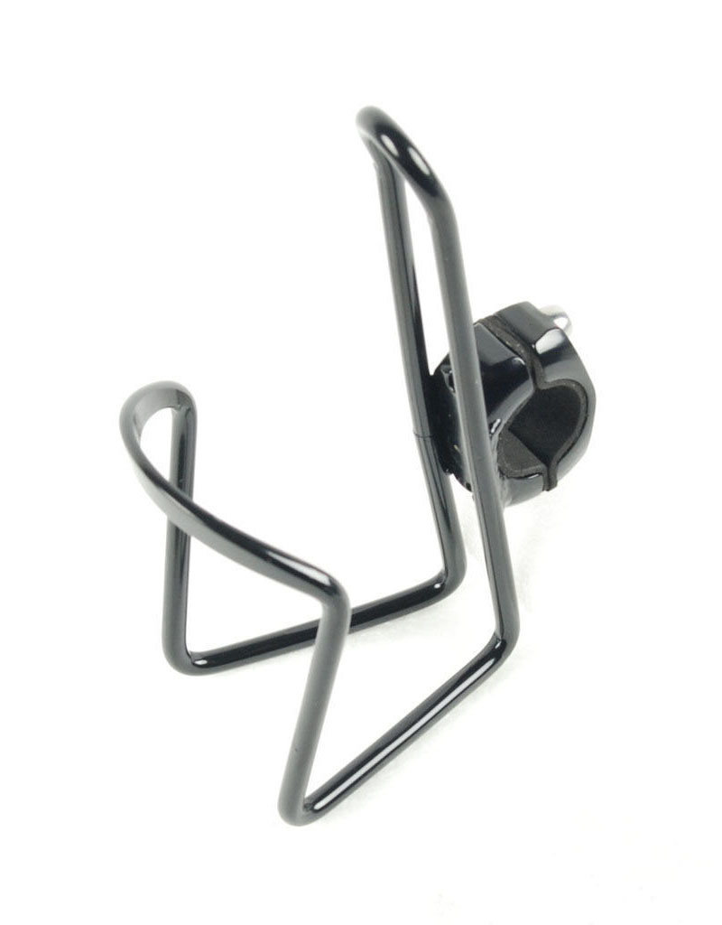 Sunlite Alloy Bottle Cage w/Bar Mount Black