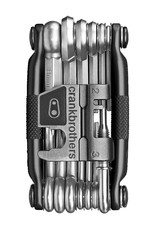 Crank Brothers Multi-19 Black/Silver Multi-Tool w/Case