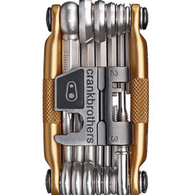 Crank Brothers Multi-19 Gold/Silver Multi-Tool