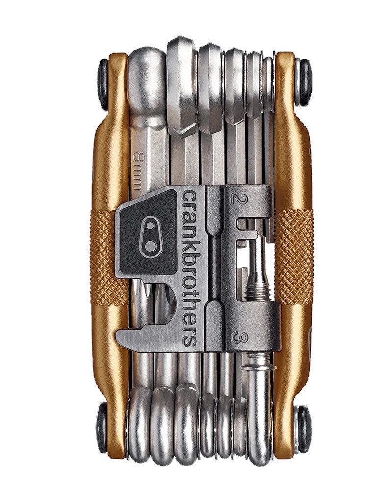 Crank Brothers Multi-19 Gold/Silver Multi-Tool w/Case