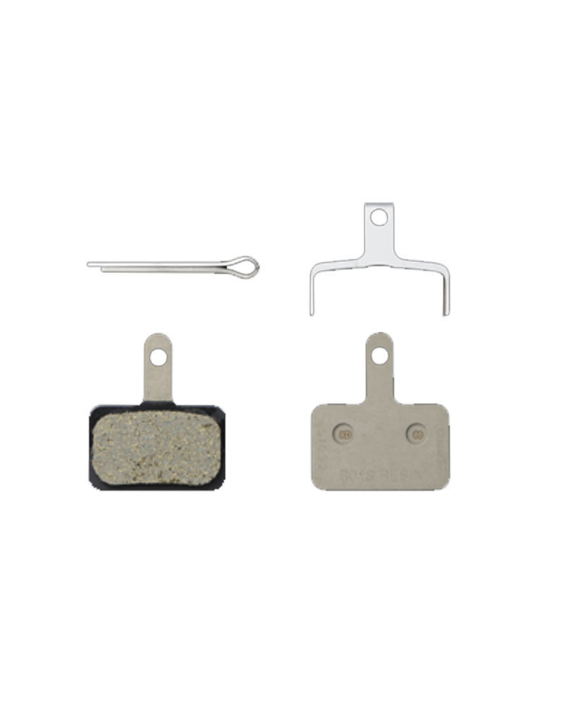 Shimano B01S Resin Disc Brake Pad w/Spring