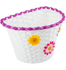 Sunlite Plastic Baskit  w/Flowers Large