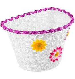 Sunlite Plastic Baskit  w/Flowers Large